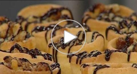 تارت الجوز والعسل، من مطبخ منال العالم