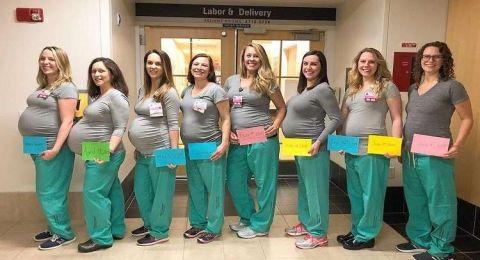 حمل جماعي لـ9 ممرضات يعملن في قسم واحد