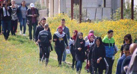 يوم الأرض: الغاء مسيرة الروحة بسبب حالة الطقس