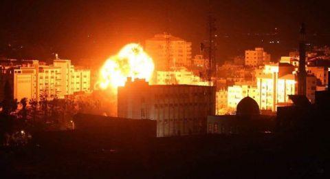 الطيران الإسرائيلي يوسع ضرباته على قطاع غزة