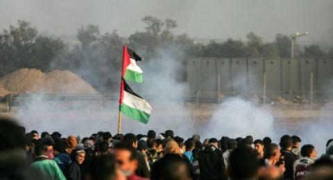 مباشر: أحداث يوم الأرض وسنوية مسيرات العودة من غزة