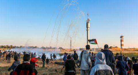 استشهاد شاب شرقي غزة خلال مشاركته بفعاليات مسيرة العودة