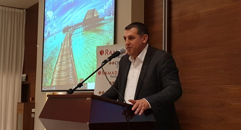 حفل تكريم لمدير التأمين الوطني في الناصرة حسام ابو بكر
