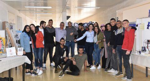 برنامج حافل في معرض العلوم في مدرسة اورط حلمي شافعي عكا