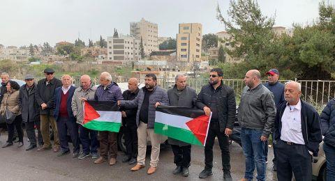 وقفة في القدس في ذكرى يوم الأرض الخالد