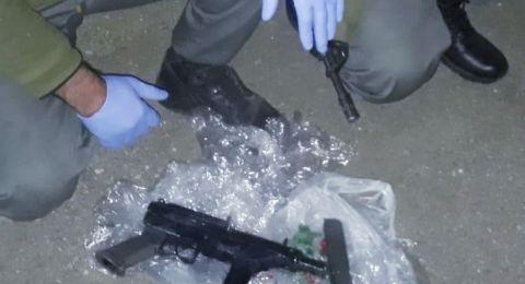 الشرطة تضبط اسلحة في بلدات عربية في الشمال واعتقال مشتبهين