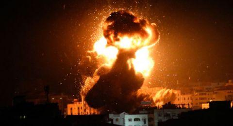 تواصل قصف قطاع غزة والمقاومة ترد ..واغلاق المدارس في الجنوب