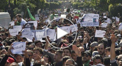 احتجاجات الجزائر تشتعل.. والشرطة تتدخل بـ