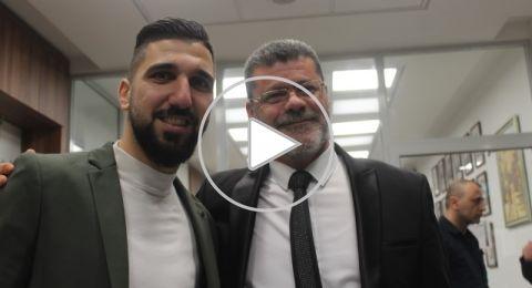 بلدية الناصرة والسفارة الاسبانية تكرمان اللاعب المتميز مؤنس دبور