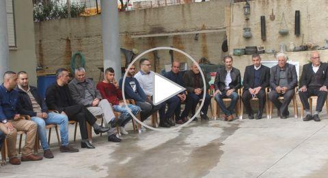 سخنين: انطلاق فعاليات يوم الارض ال 43 بزيارة عائلات ذوي الشهداء