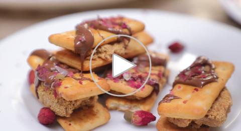 صنع حلوى بأربع مكونات في 5 دقائق