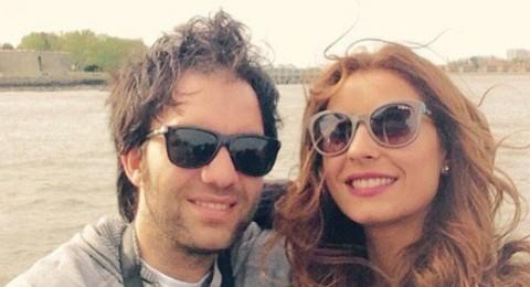 الصور الأولى من شهر عسل شريف رمزي وزوجته ريهام أيمن