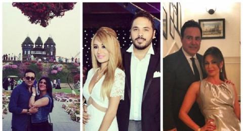 زوجات المشاهير..بين أناقة زوجة عاصي ورامي ورومانسية زوجة صابر
