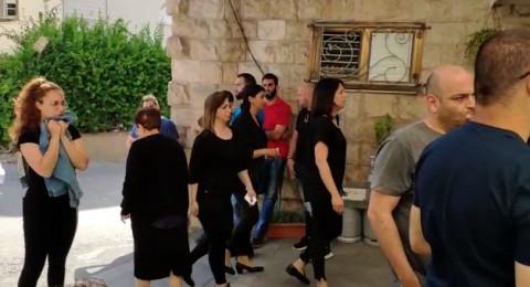كفر ياسيف الحزينة تستقبل المعزين بوفاة ابنها الفنان أيمن صفية