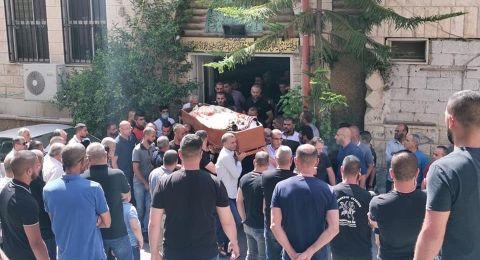 ام الفحم: تشييع جثمان ناصر محاميد