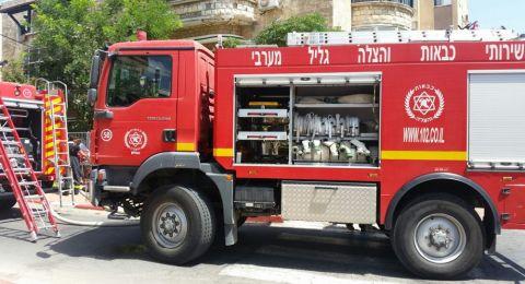 القدس: مصرع مسنة جرّاء اندلاع حريق بشقة في مخيم شعفاط