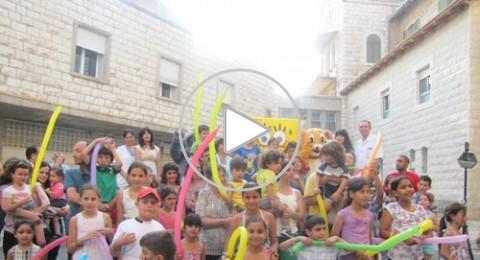 فعالية مبتكرة يقدمها مستشفى الناصرة للأطفال لاستقبال الصيف بأمان