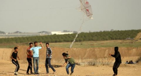 إسرائيل تقصف أرض زراعية شرق غزة