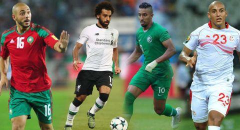 من هو أفضل لاعب عربي في مونديال روسيا؟