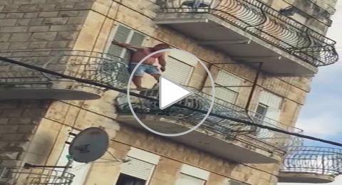حيفا: الشرطة تنجح بمنع مواطن من الانتحار