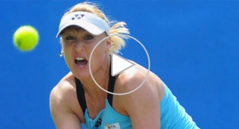 لاعبة التنس الأوكرانية الأصل