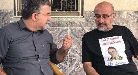 والد الشهيد محمد طه: لن اتخلى عن ملف ابننا الشهيد ما دام في داخلي نفس
