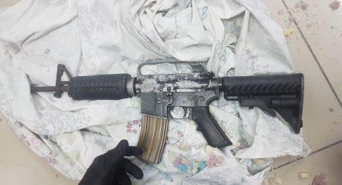 وادي عارة: ضبط سلاح من نوع M-16، مع مواطن من بيتح تكفا وتقديم لائحة اتهام ضده