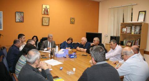 انتخاب المحامي بسيم عصفور رئيسا لمجلس الطائفة الارثوذكسية في الناصرة