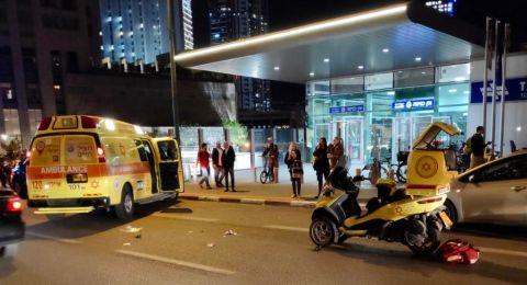 قتيلان ومصابين بحوادث وحريق في تل أبيب والقدس مساء اليوم