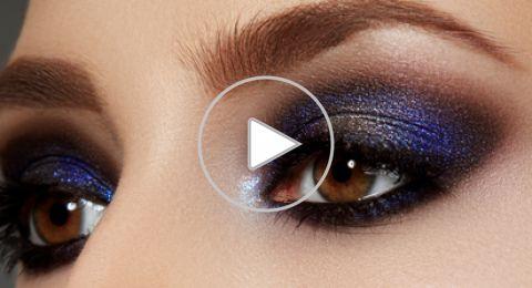 أخطاء مكياج العيون المبطنة وطرق تصحيحها