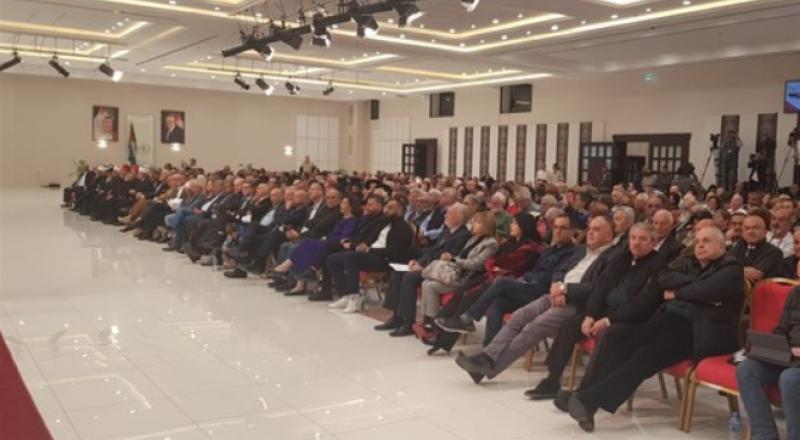 عشرات الاسرائيليين يتضامنون مع الشعب الفلسطيني وسط رام الله