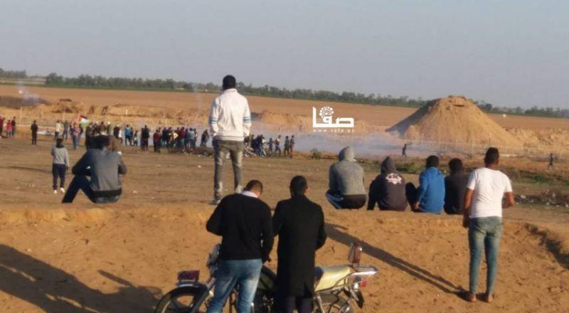 شهيد و5 إصابات برصاص قوات الاحتلال شرقي خان يونس