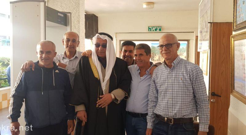 سخنين مدرسة جمال طربيه الثانوية تحيي يوم التراث باجواء شعبية