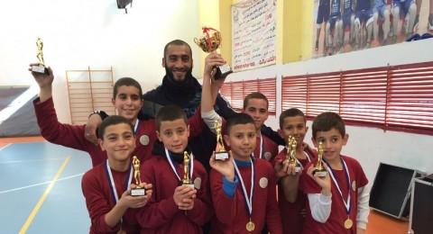باقة الغربية :مدرسة الشافعي تفوز ببطولة كرة السلة للأولاد