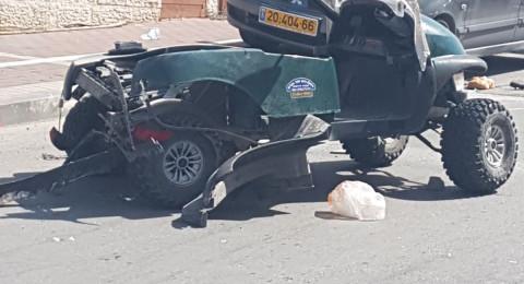 قتيلان و 3 مصابين بحادث طرق في بيت شيمش قرب القدس