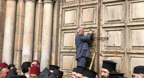 لأول مرة منذ عقود .. قرار بإغلاق كنيسة القيامة احتجاجًا على فرض الضرائب