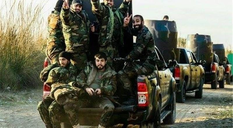 الجيش السوري يقتحم جبهة حرستا