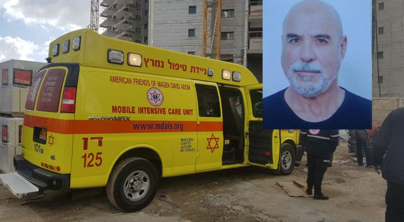 الرينة: مصرع  عامل البناء بسام عثاملة بعد سقوط جسم ثقيل عليه بورشة في مركز البلاد