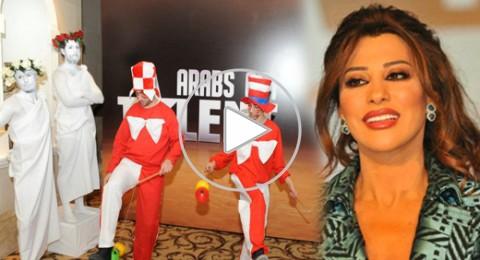 نجوى كرم لم أندم على أي قرار مع متسابقي Arabs Got Talent