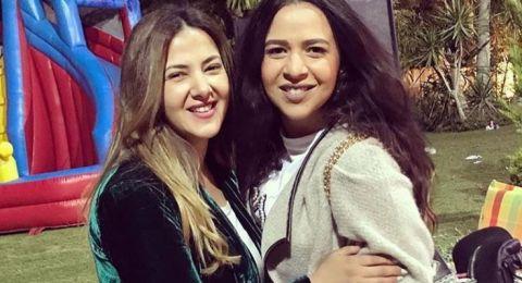 دنيا سمير غانم تحتفل بعيد ميلاد ابنتها
