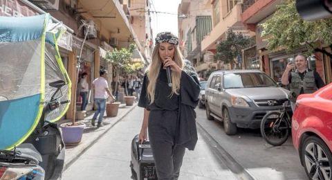 مايا دياب في الشارع لمساعدة المشردين.. ماذا فعلت؟