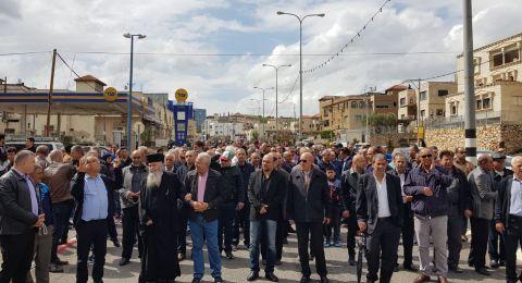 إنطلاق مسيرات يوم الأرض في عرابة، سخنين ودير حنا