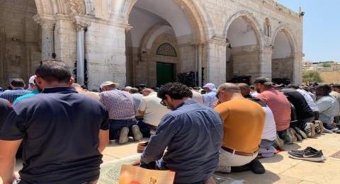 أكثر من 60 ألف مصل في الجمعة الثالثة من رمضان بالمسجد الأقصى