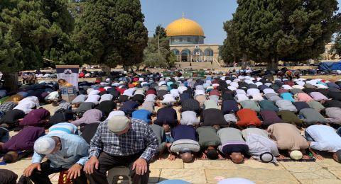الجمعة الثالثة من رمضان بالمسجد الأقصى