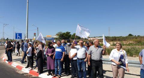 اعتقالات في مظاهرة ضد مصادرة اراضي في الجديدة- المكر