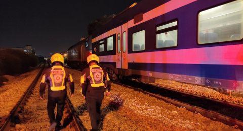 مصرع شخص دهسًا على سكة القطار في حيفا .. وحادث مروع في الغور
