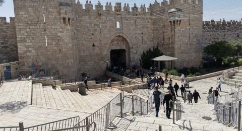 الشرطة الإسرائيلية ترفع حالة التأهب استعدادا لصلاة الجمعة الثالثة من رمضان