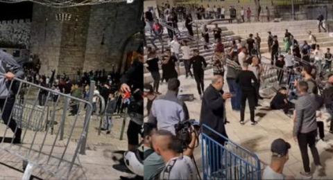 لجان المقاومة: شباب القدس اضافوا انتصارا جديدا في معركة الارادة