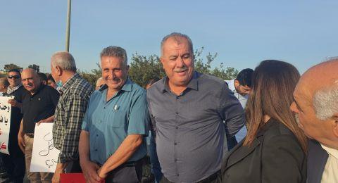 اللجان الشعبية في الجليل تنظم مظاهرة تضامنية مع أهل القدس ويافا
