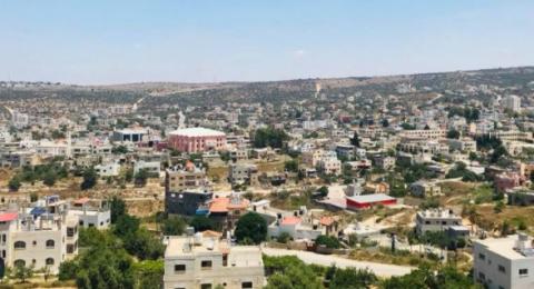 الجرافات الاسرائيلية تواصل أعمال تجريف اراض غرب سلفيت